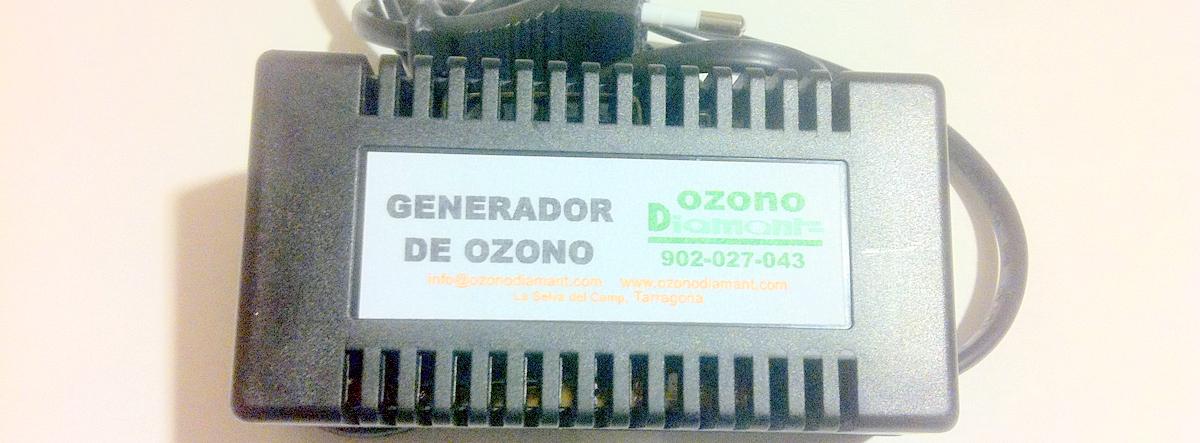 Generador de ozono Basic turbo ozonodiamant